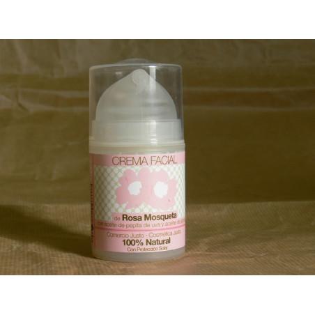 Crema facial de Rosa Mosqueta - 50ml