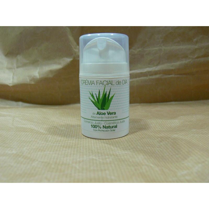 Crema Facial de Aloe Vera-50ml