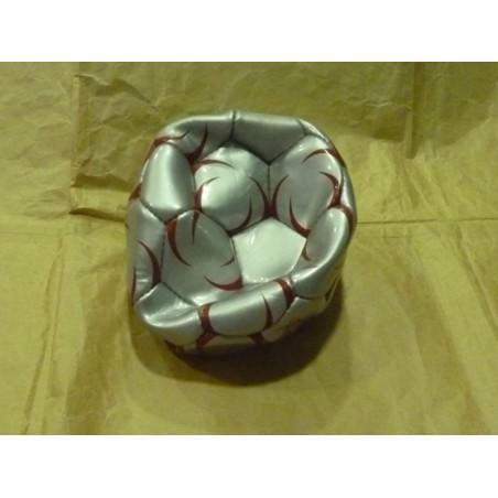 Balón piel fútbol profesional 21cm diam