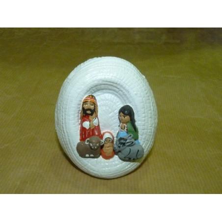 Portal de belén cerámica
