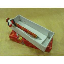 Bolígrafo con ratoncito, en caja