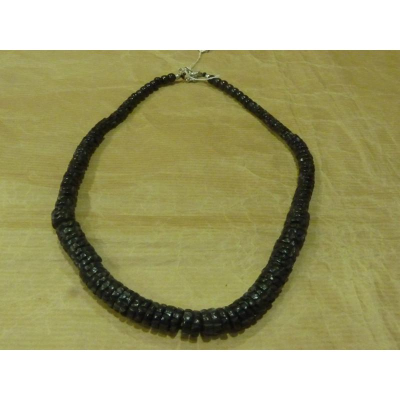 6327add85492 Collar de hueso negro - PROYDE - Comercio Justo