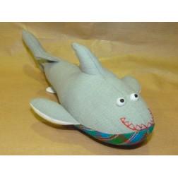 Peluche algodón tiburón
