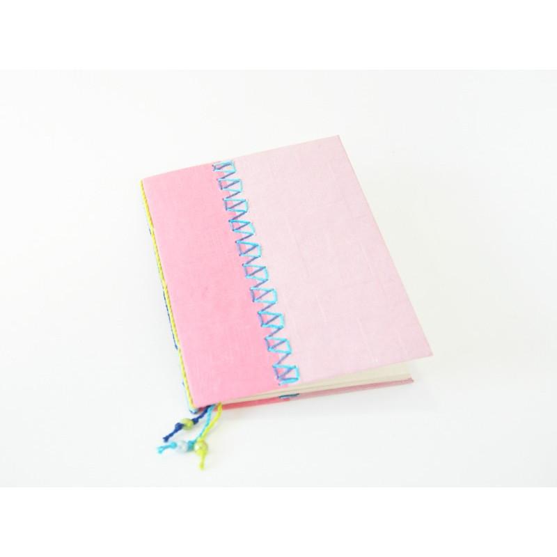 Libreta - cuaderno tonos rosas