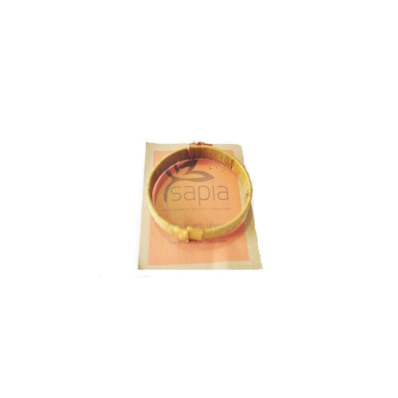 Pulsera abierta de caña 1cm
