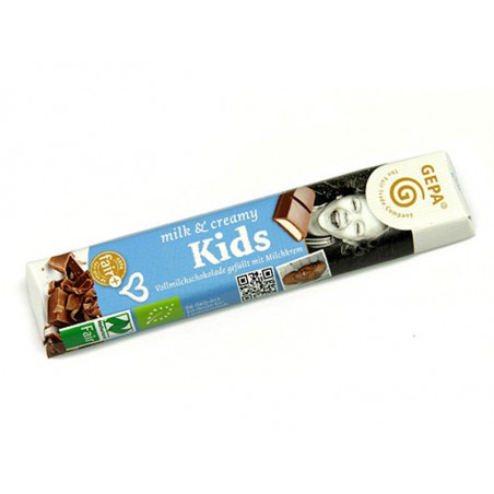 Barrita de chocolate, Kids, BIO