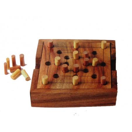 Juego del molino - madera, 10cm
