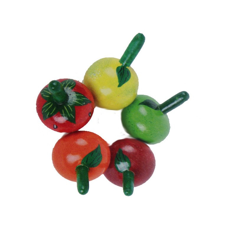 Peonza fruta variada