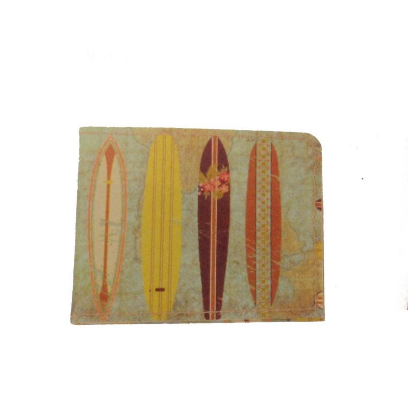 Cartera-tarjetero tablas surf