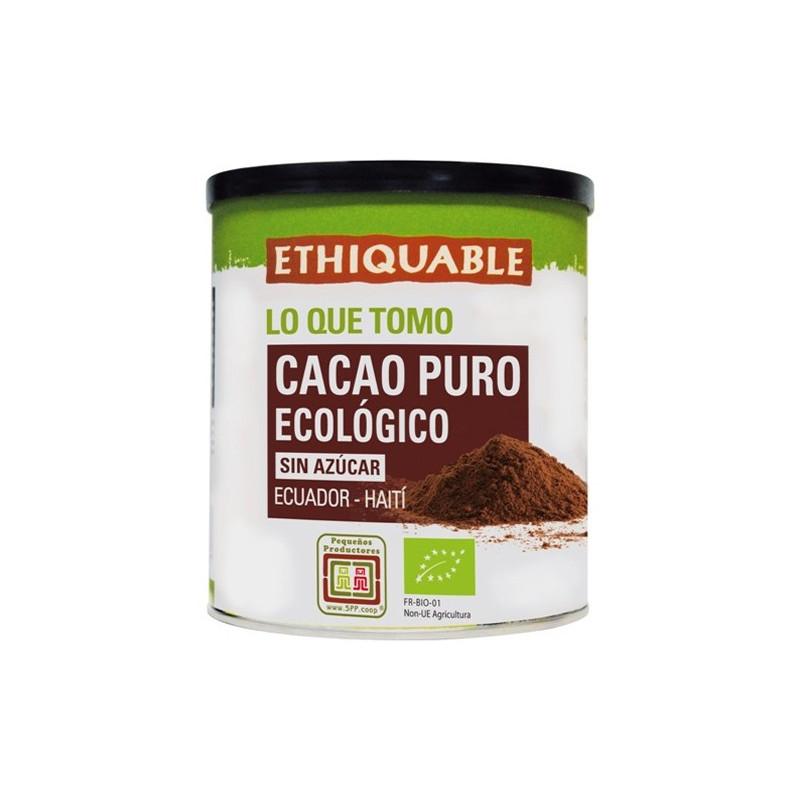 Cacao puro BIO, en lata