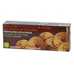 Galletas integrales de avena y chocolate, BIO