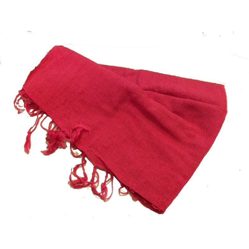 Pañuelo algodon rojo