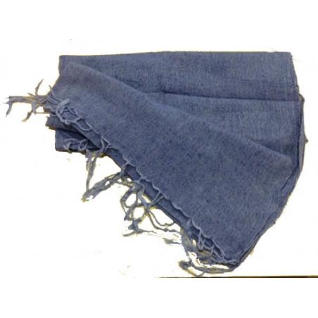 Pañuelo algodon azul