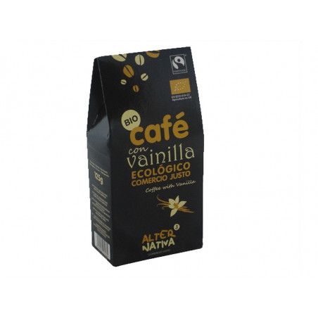 Café aromatizado a la vainilla molido BIO 125gr