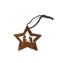 Móvil estrella madera Tierra Santa