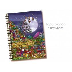 """Libreta 10*14cm """"Favela"""""""