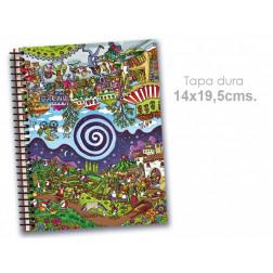 """Cuaderno 14*19.5 cm """"Comercio Justo"""""""