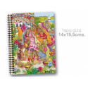 "Cuaderno 14*19.5 cm ""India"""