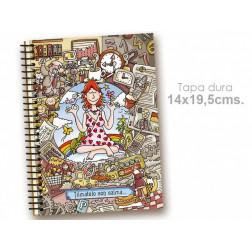 """Cuaderno 14*19.5 cm """"Tómatelo con calma"""""""