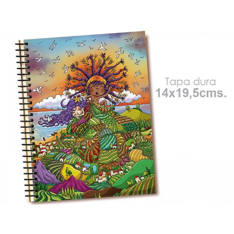 """Cuaderno 14*19.5 cm """"Al amanecer"""""""