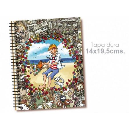 """Cuaderno 14*19.5 cm """"Hombre nuevo"""""""
