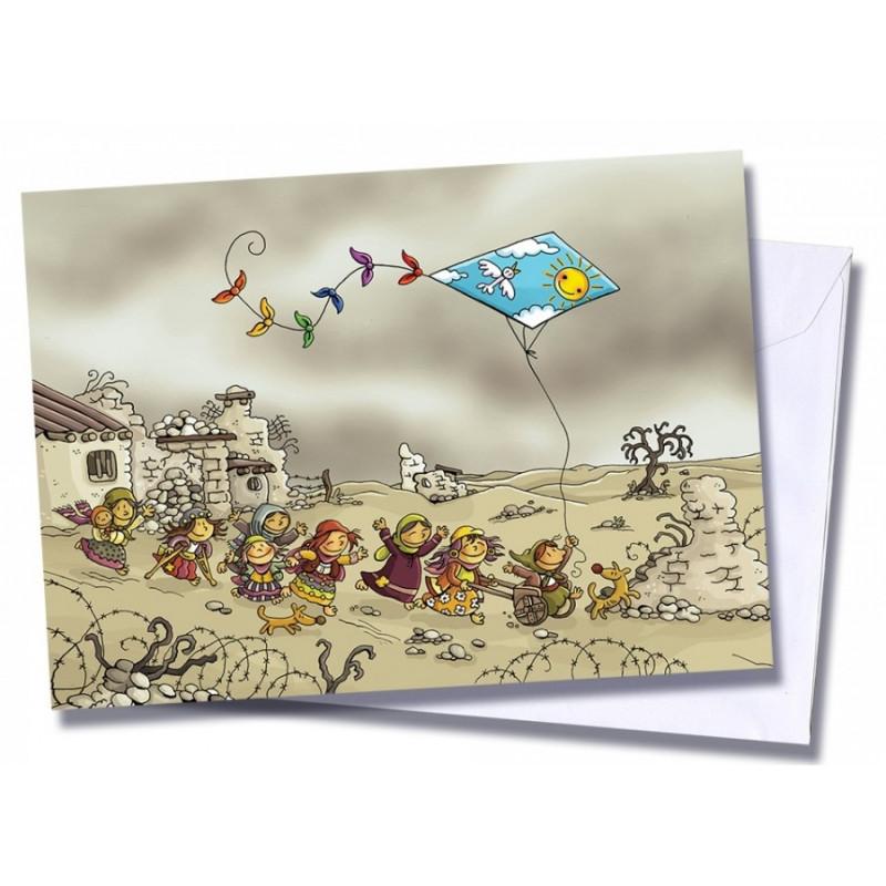 """Tarjeta/postal """"Nuevos y vientos"""""""