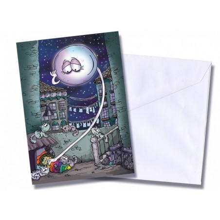 """Tarjeta/postal """"Nana del callejón"""""""