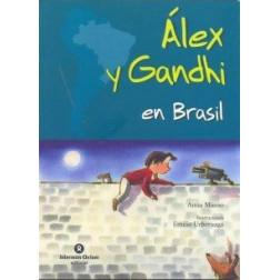 Alex y Gandhi en Brasil