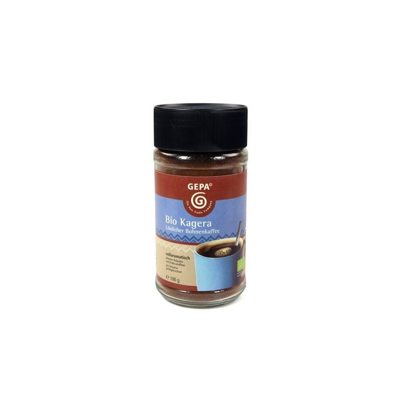 Café instantáneo BIO Robusta/Arábica - 100gr