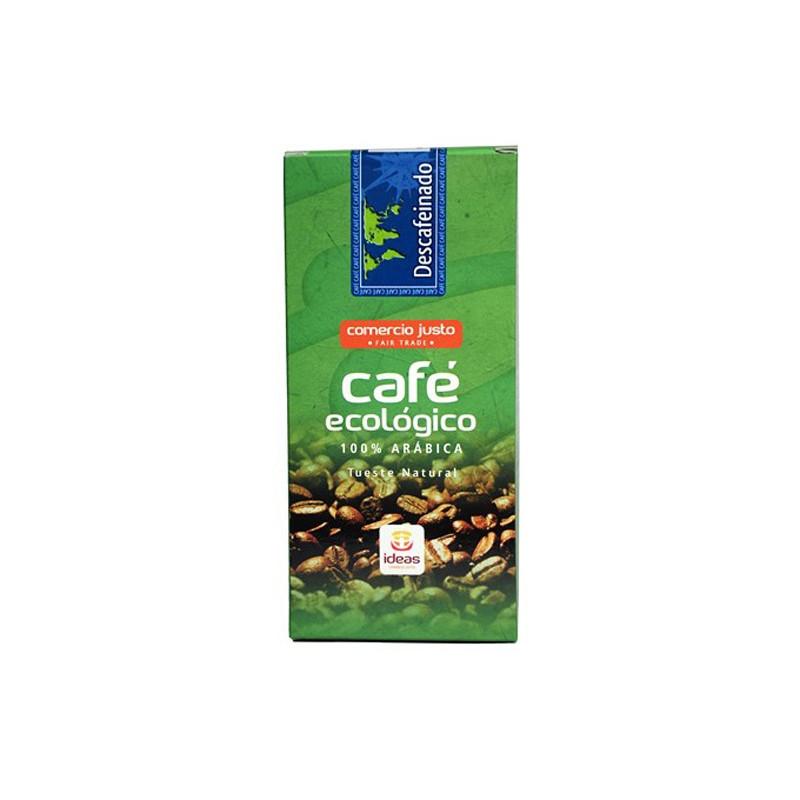 Café descafeinado, 100% arábica, tueste natural, BIO