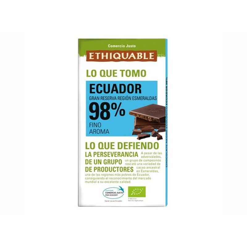 Chocolate extrem cacao 98%