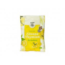 Caramelos de limón y tomillo