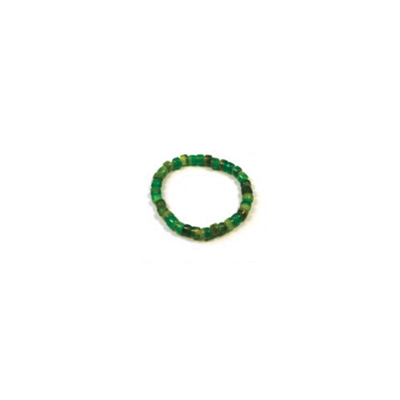 Pulserita cuentas cristal verdes