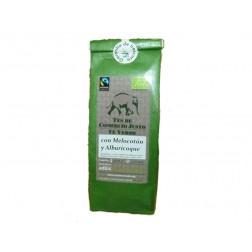 Té verde con melocotón y albaricoque, suelto