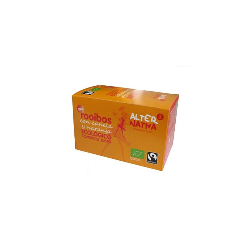 Rooibos con naranja y canela, BIO, 20 bolsitas