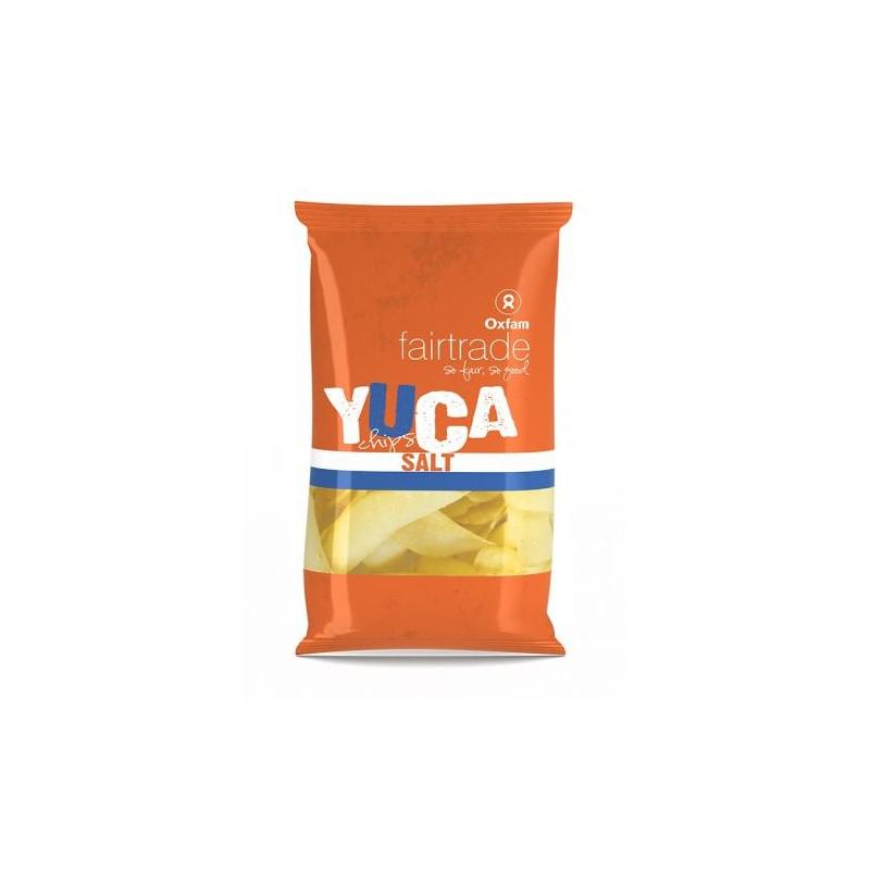 Chips de yuca con sal