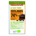 Chocolate negro 74% Costa de Marfil BIO