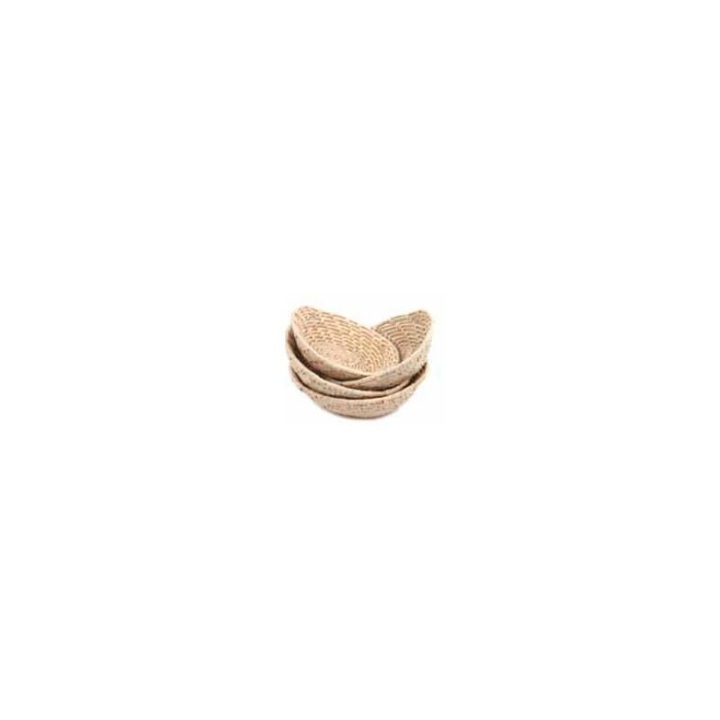 Cesta mimbre oval 18cm