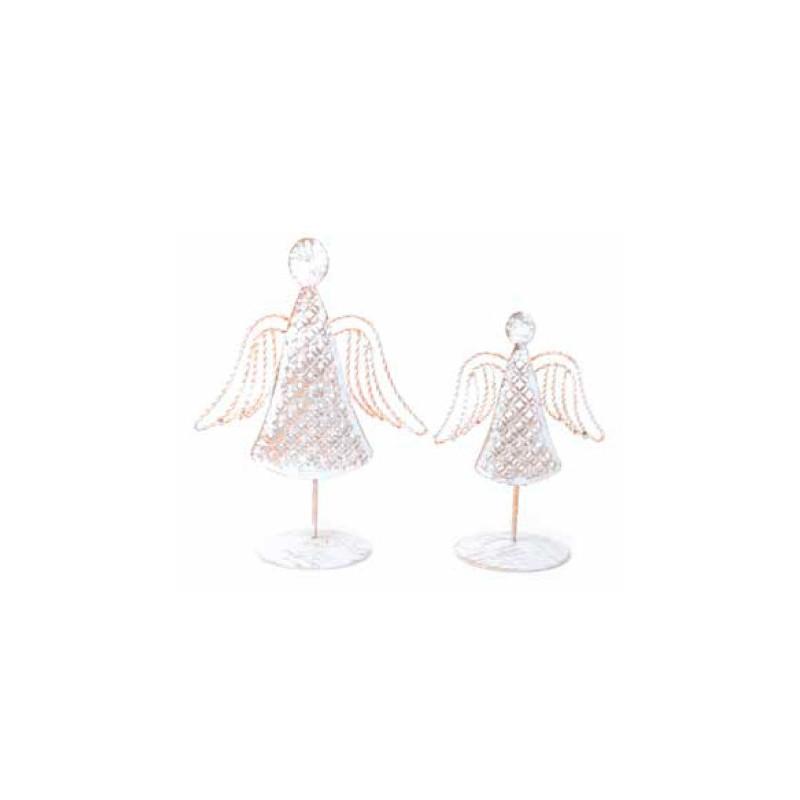 Angelcon pedestalblanco y oro 24cm
