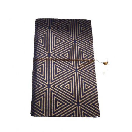Cuaderno azúl, triángulos