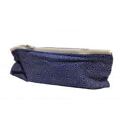 Estuche azul algodón 22*9.5cm