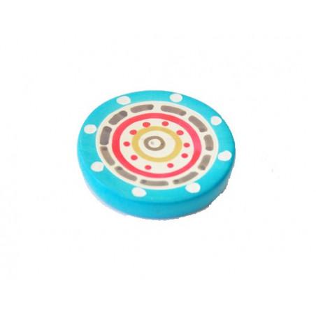 Quemador círculo de incienso estatita - 6cm
