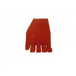 Perchero rojo en forma de mano 13x10x14 cm