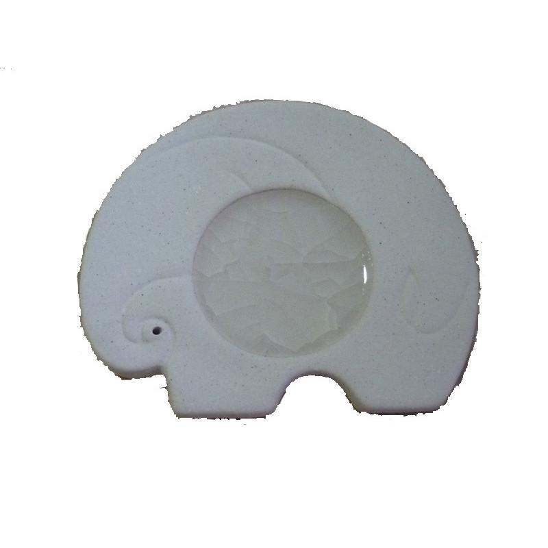 Inciensario cerámica elefante