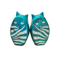 Sujetalibros piedra gatos - 15*8*5 cm