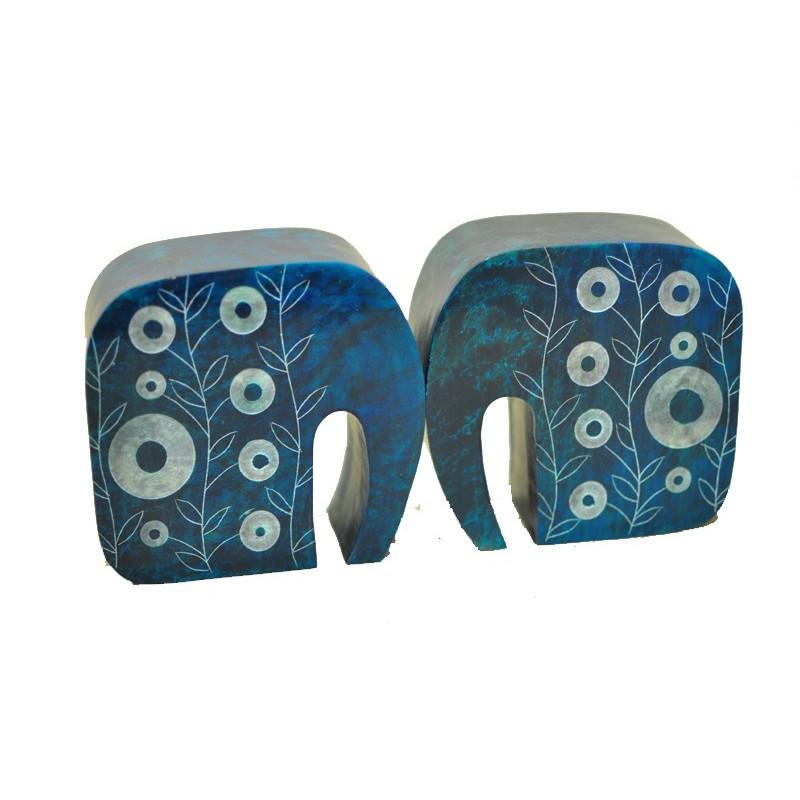 Separalibros piedra elefante - 12*10 cm