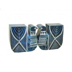 Separalibros piedra aves - 13*10*5 cm
