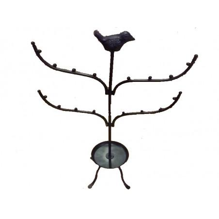 Soporte para joyería, diseño pájaro