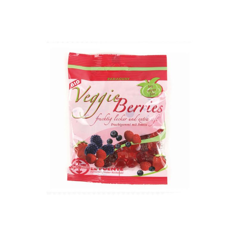 Gominola vegana frutos rojos
