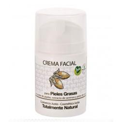 Crema facial pieles grasas, con jojoba